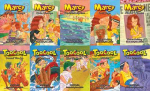 Boxed Set - Marcy (series 2) and Toocool (series 5)