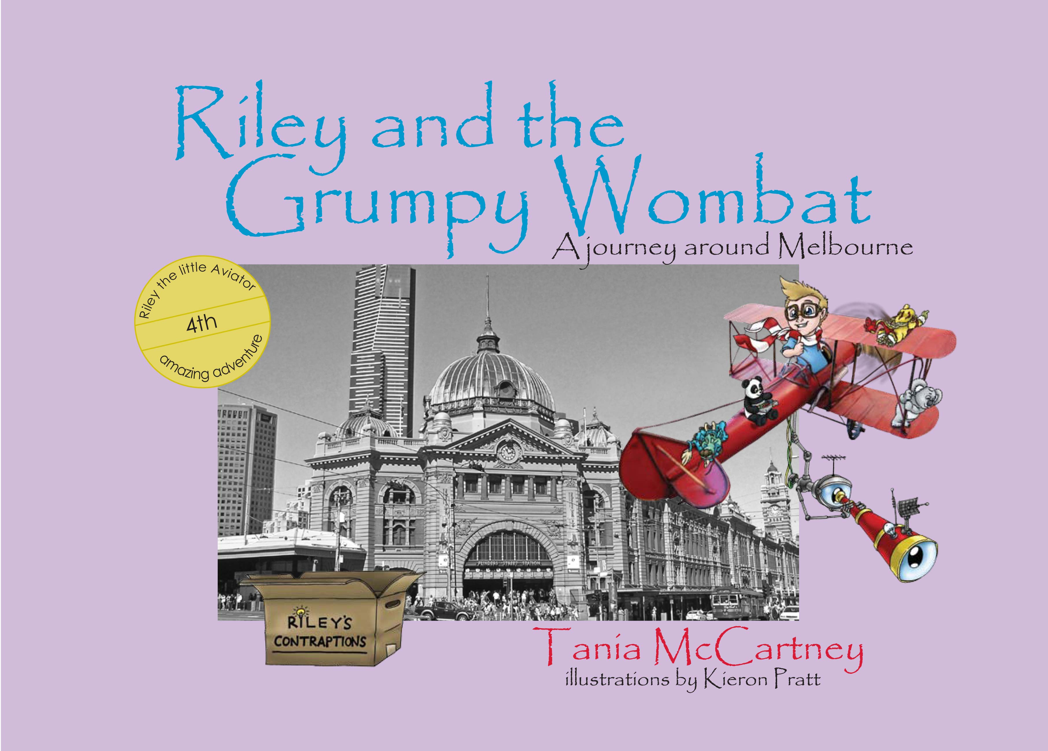 Riley and the Grumpy Wombat: A journey around Melbourne