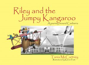 Riley and the Jumpy Kangaroo: A journey around Canberra