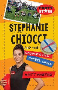 Stephanie Chiocci and the Cooper's Hill Cheese Chase