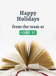 Happy Holidays from Ford Street Publishing